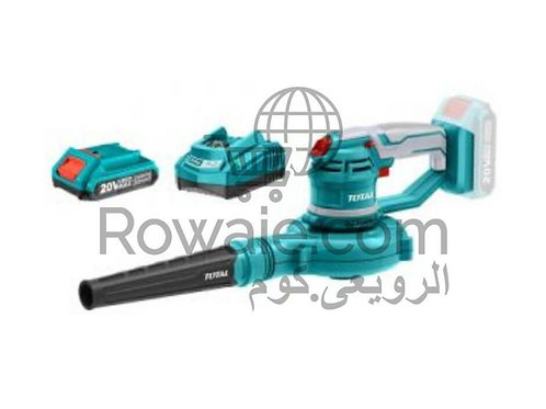 Total TABLI2001 BLOWER  20V & 1 Battery and Charger | بلاور هواء 20 فولت