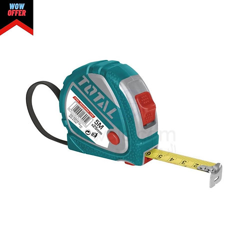 TOTAL STEEL MEASURING TAPE | متر معدنى كاوتش