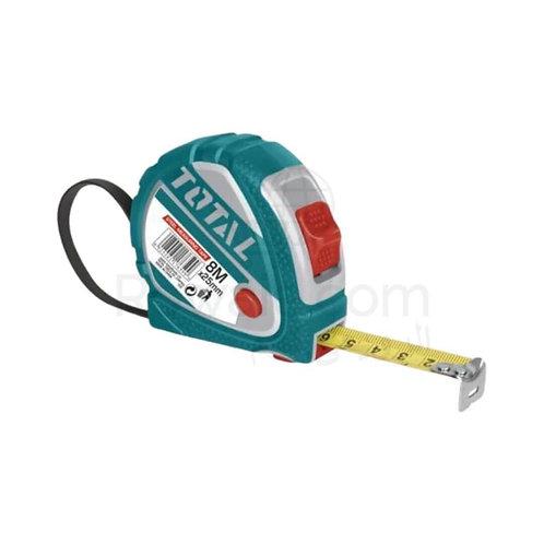 TOTAL TMT126081M Nickel Measuring Tape 8m × 25mm | متر 8 متر توتال