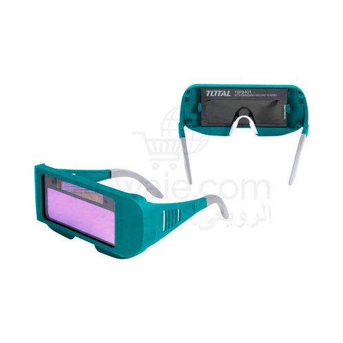 TOTAL TSP9401 Auto-Darkening Welding Goggle 95 X 31mm | نظارة لحام اتوماتيك