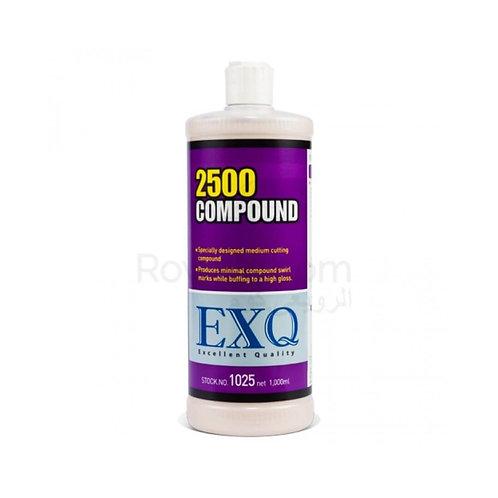 EXQ 2500 Compound 1L | بولش  ملمع متوسط النعومة 1 لتر