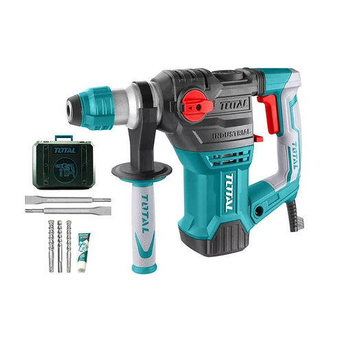 Total TH1153216 Rotary Hammer SDS-PLUS 1500W | هلتى شاكوش تكسير وتخريم 1500 وات