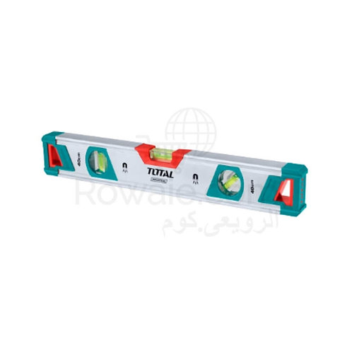 Total TMT20605M Spirit Level 60CM With Powerful Magnets |ميزان مياه ممغنط 60سم