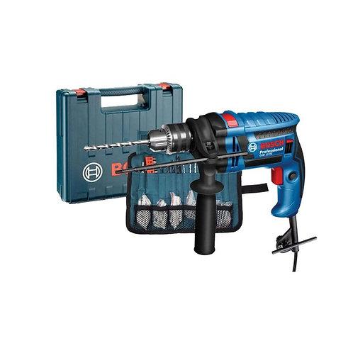 Bosch 06012271K2 GSB 13 RE Impact Drill 13mm 650w & 100Pcs |شنيور بوش 13 ملى 650