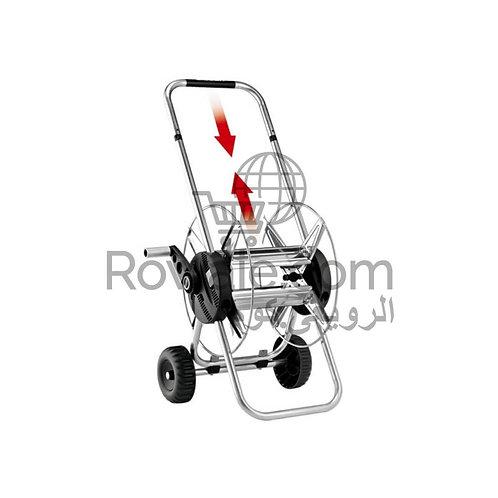 Claber 8914  Metal Compact Hose Cart 30-50-60   استاند تلسكوبي خرطوم حدائق