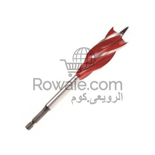 Spiral Wood Drill Four Flute Bit 22mm | بنطة حلزونية 22 ملى 4 سلاح