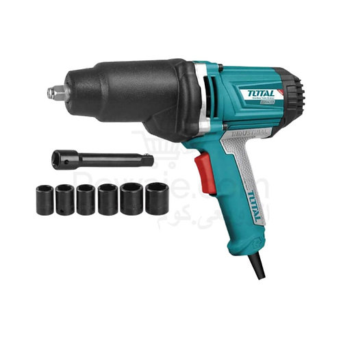 TOTAL TIW10101 IMPACT WRENCH 1050W | دريل نص بوصة 1050 وات 550 نيوتن