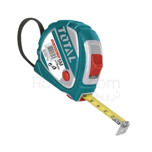 TOTAL TMT126051M  Nickel Measuring Tape 5m × 19mm   متر 5 متر توتال