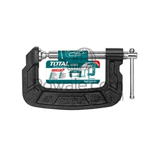 Total THT13141 G Clamp 4"