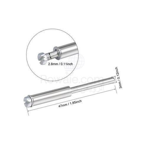 Mandrel 3mm | ظرف تثبيت بمسمار اكس 3 ملى