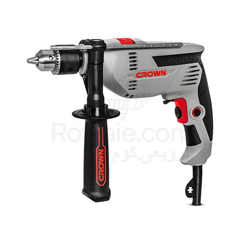 Crown CT10128 Impact Drill 600w 13mm | شنيور دقاق 600 وات 13مم كراون