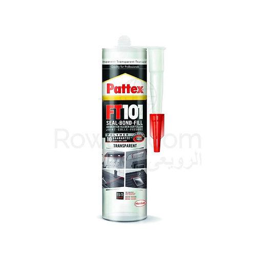 Pattex FT101 Seal Bond Fill Transparent 280ml | غراء سيليكون شفاف تحت الماء