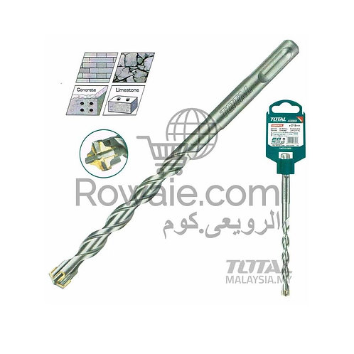 Total TAC310602C SDS Plus Hammer Drill Bit /بنطة فدية هلتي 6*160مم