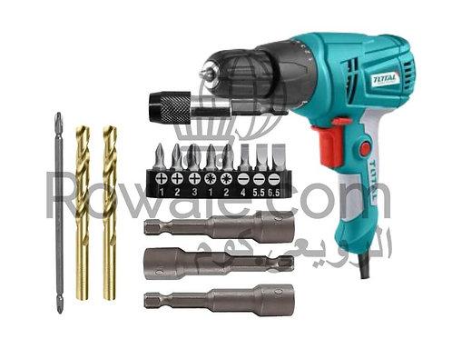 Total TD502106 ELECTRIC SCREWDRIVER 280W & Accessories |  شنيور ربط و فك 280 وات