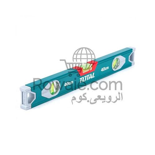 Total TMT24016 Spiril Level 40cm | ميزان مياه  40 سم توتال 3 عين