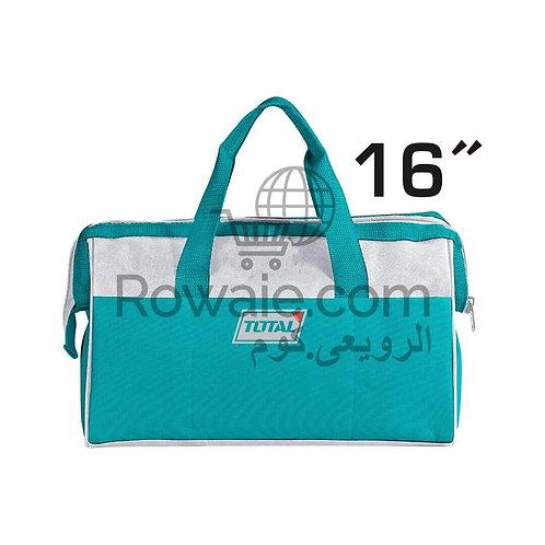 TOTAL TOOL BAG 16''  THT26161 | شنطة عدة قماش 16 بوصة