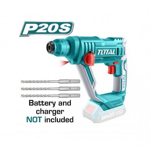 Total TRHLI1601 ROTARY HAMMER 20V | هلتى تخريم 20 فولت