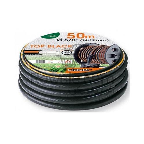 "Claber 9043 Top-Black 5/8"" m50 | خرطوم مياه مقاوم للتشابك والطحالب 50م كلابر"
