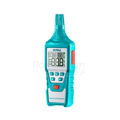 TOTAL TETHT01 DIGITAL HUMIDITY AND TEMPERATURE METER | جهاز قياس الرطوبة