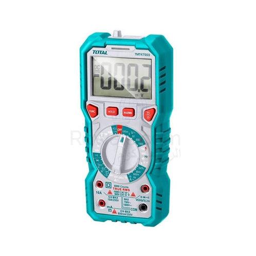 TOTAL TMT47503 Digital Multimeter 1000V   ملتيميتر توتال 1000 فولت