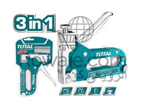 TOTAL THT31143 STAPLE GUN 3 IN 1 | دباسة توتال تولز 3 في 1