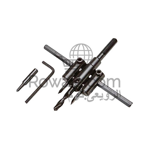 Adjustable Circle Hole Cutter 300mm | بنطة برجل لعمل دوائر للخشب والجبس