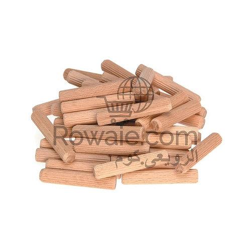 Dowels Fluted 25 PCS | كوايل كابولى خشب 25 قطعة