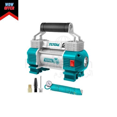 Total TTAC2506 Auto Air Car Compressor 2 Cylinder | كمبروسر عربية 2 بيستم توتال