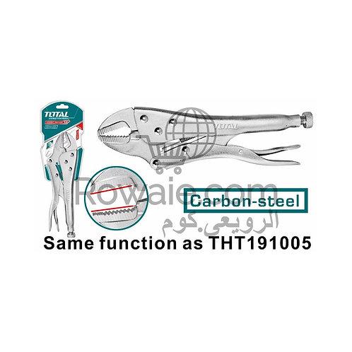 "TOTAL THT191002 STRAIGHT JAW PLIER 10"" | كلابة عدلة 10 بوصة توتال"