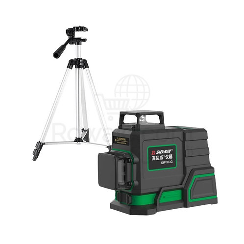 SNDWAY SW-373G Laser Leveling 40m 360°| ميزان شيرب ليزر 3 خط 360 درجة مدى 40م