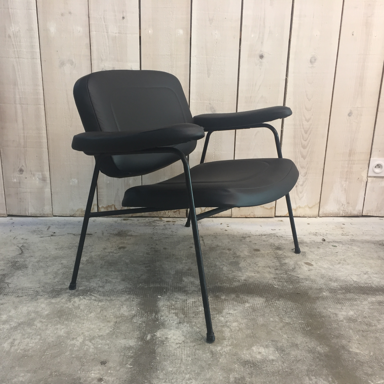 fauteuil lounge pierre paulin cm 190f (5)
