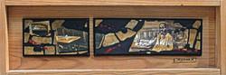 Martinho da Arcada-2001-2002-Technique mixte sur  bois-35cmx12cmx4cm