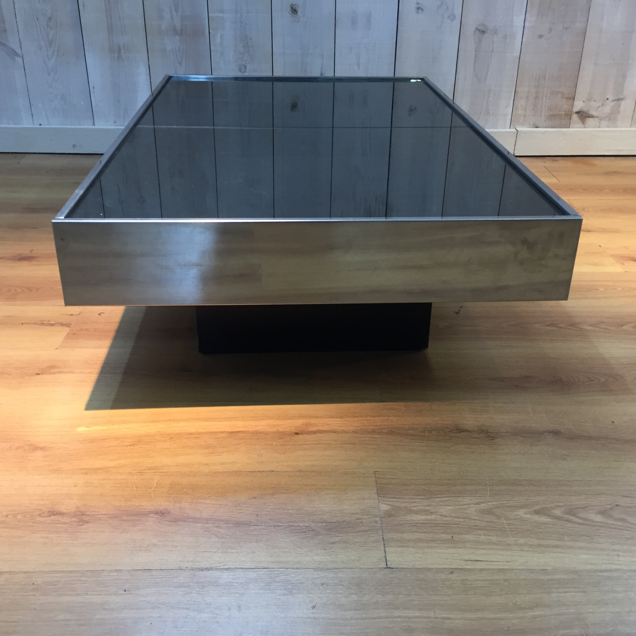 Table basse Willy Rizzo éditon Cidue