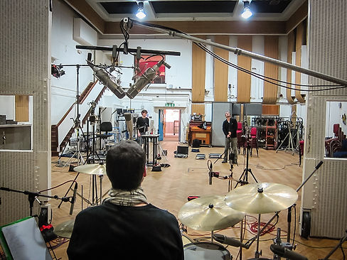 Roman Roth in Abbey Road Studios