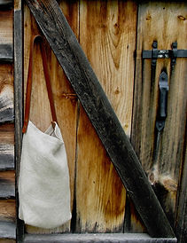 Antrim Handweaving Hemp Strap Satchel co