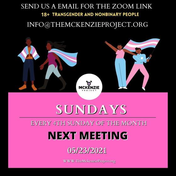 Monthly Zoom calls