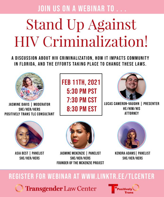 HIV Criminalization: Florida Stand Up!