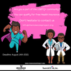Let us help our community get access to Health Insurance.  In partnership with TransSocial Inc