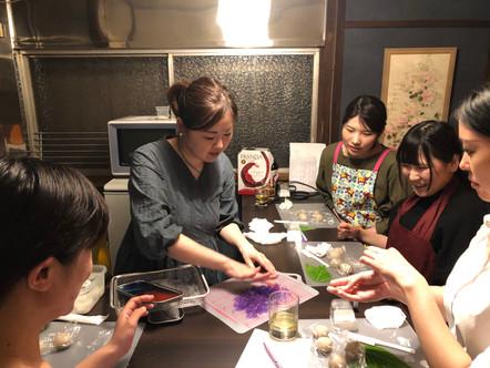 和菓子作りレッスン