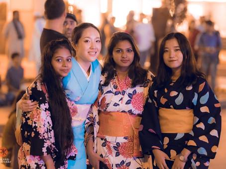 着物の体験を通して日本とインド友好の架け橋となる!