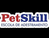 Logo-PetSkill-Azul-ESCRITA-MENOR-CONTORN