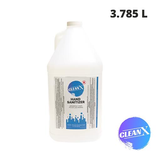 MP - CleanX 80% Ethanol Liquid Hand Sanitizer 3.785 L