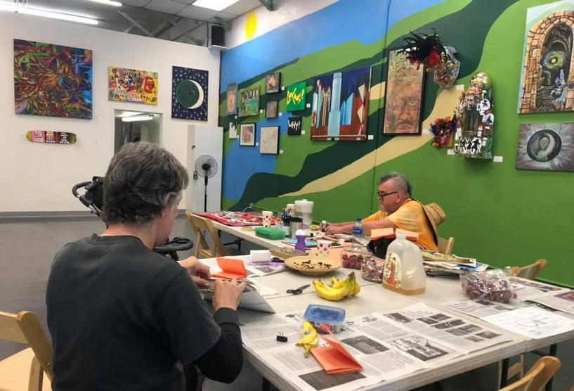 Zine-Making Workshop with Tabiya at SRHMA