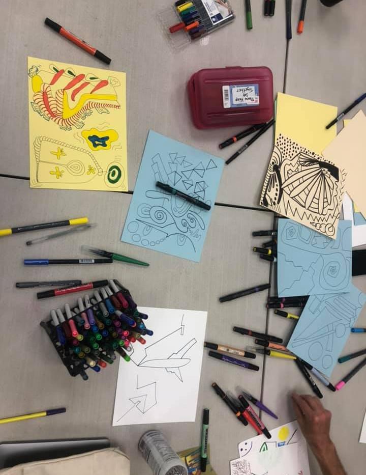 Art Workshop with Natosha at SRHMA
