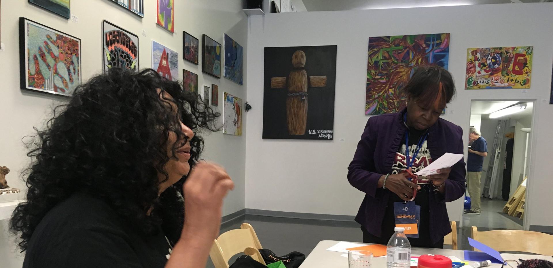 Art Workshop with Linda at SRHMA
