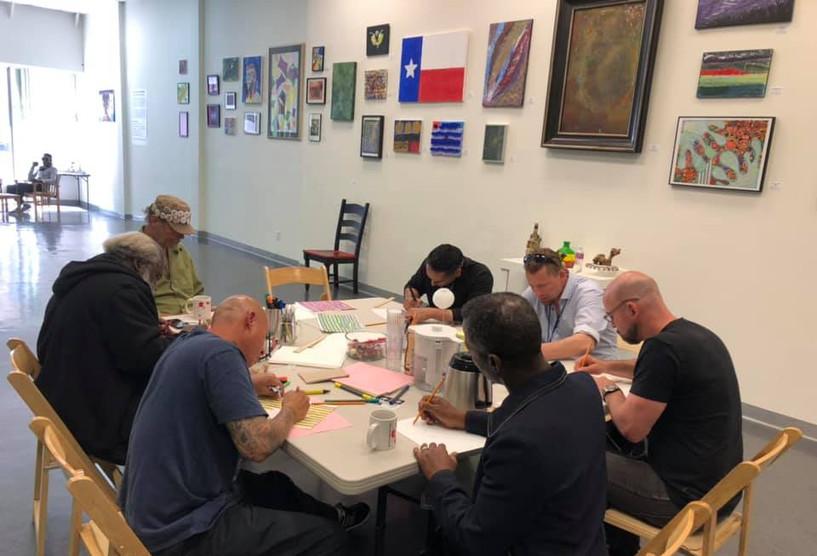 3-d Drawing Workshop with Garrison at SRHMA