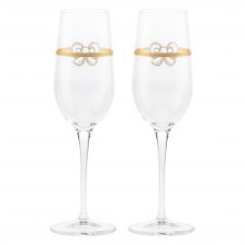 Set 2 calici flute Gold Icons THUN