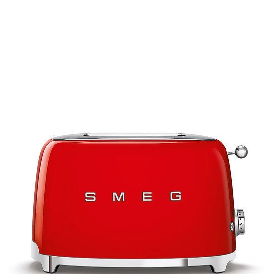 Tostapane ROSSO 2 fette 50's Style SMEG