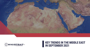 Wikistrat's Key Trends in the Middle East – September 2021