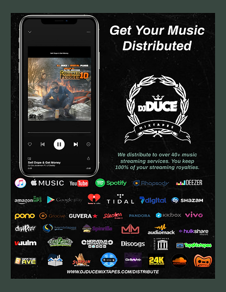 DJDuceMixtapes Get Your Music Distribute